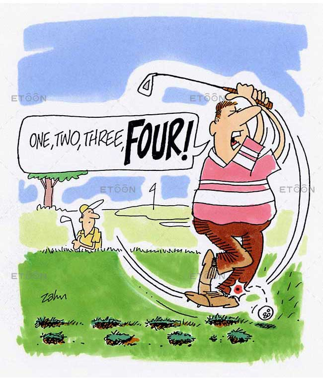 One, two, three, FOUR!: eToon cartoon for newsletters, presentations, websites, books and more