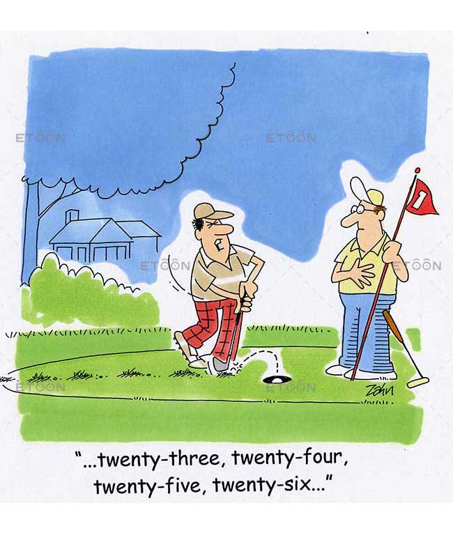...twenty three, twenty four, twenty five, twenty six...: eToon cartoon for newsletters, presentations, websites, books and more