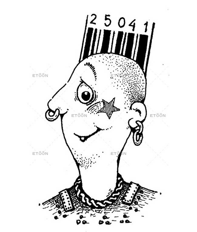 Punk: eToon cartoon for newsletters, presentations, websites, books and more