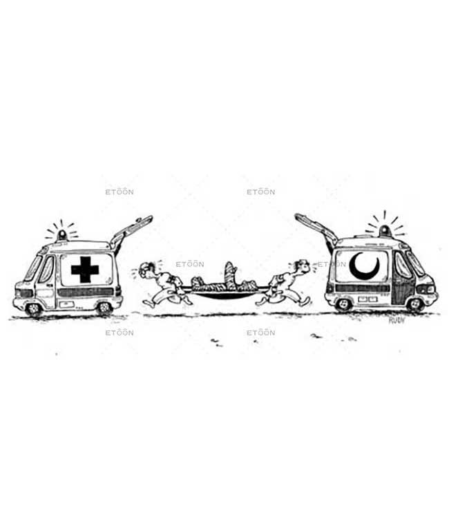 Ambulance confusion: eToon cartoon for newsletters, presentations, websites, books and more