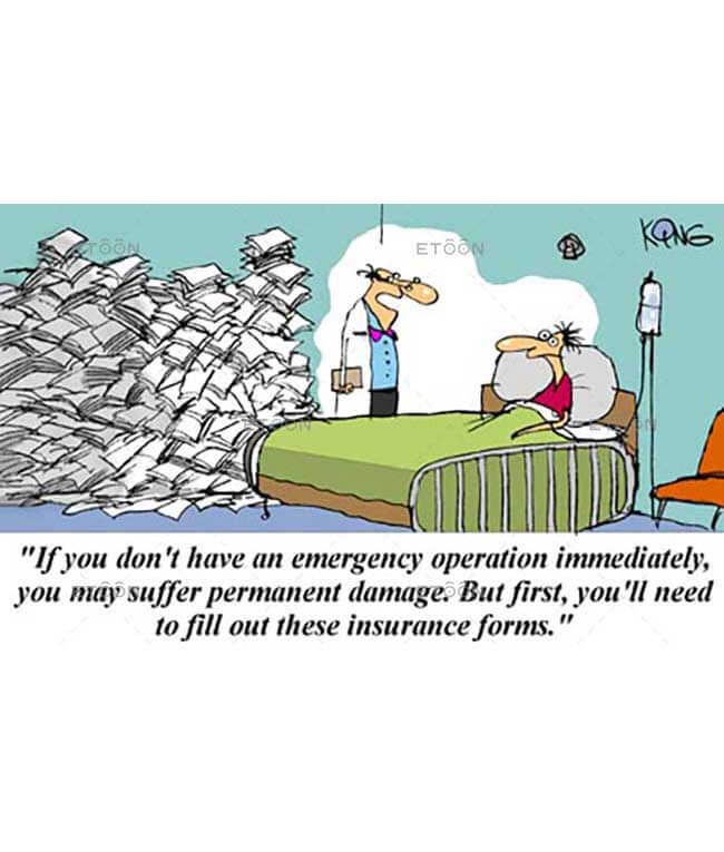 If you dont have an emergency operation...: eToon cartoon for newsletters, presentations, websites, books and more