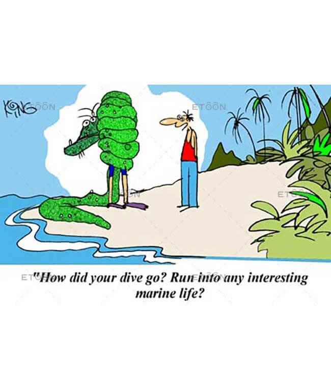 How did your dive go...: eToon cartoon for newsletters, presentations, websites, books and more