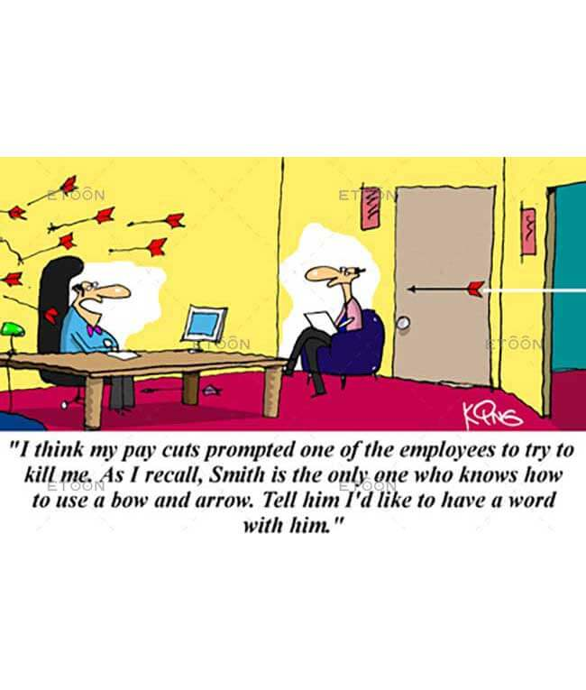 I think my pay cuts promoted...: eToon cartoon for newsletters, presentations, websites, books and more