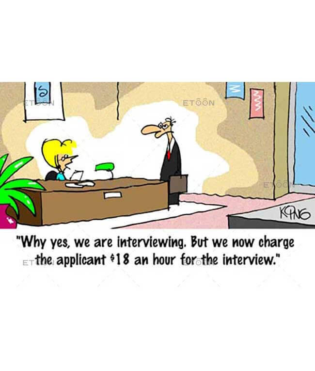 Why yes, we are interviewing...: eToon cartoon for newsletters, presentations, websites, books and more