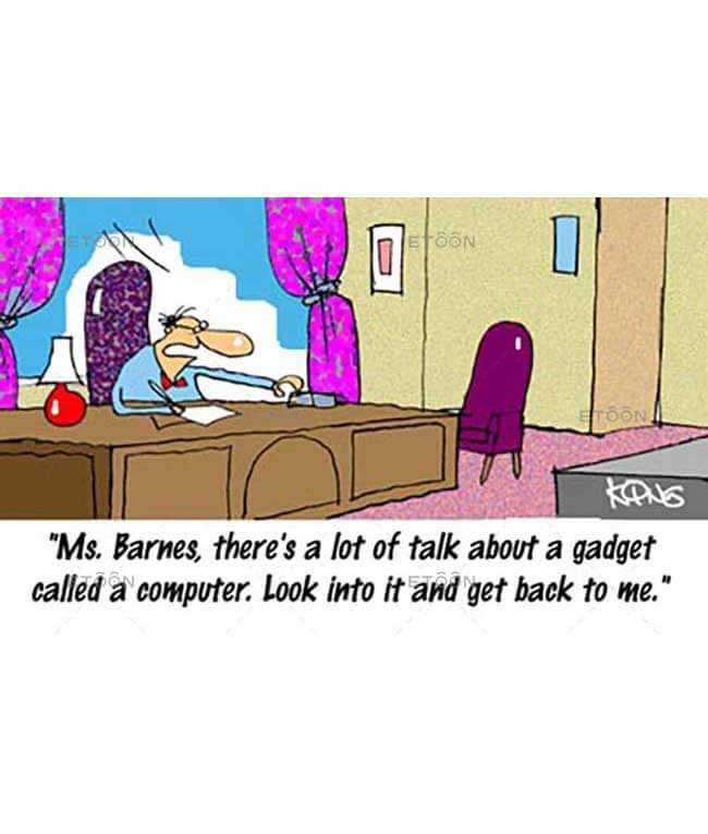 Ms. Barnes, theres a lot of tale...: eToon cartoon for newsletters, presentations, websites, books and more