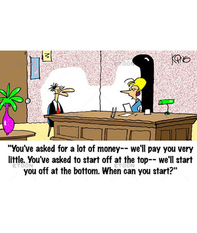 Youve asked for a lot of money...: eToon cartoon for newsletters, presentations, websites, books and more