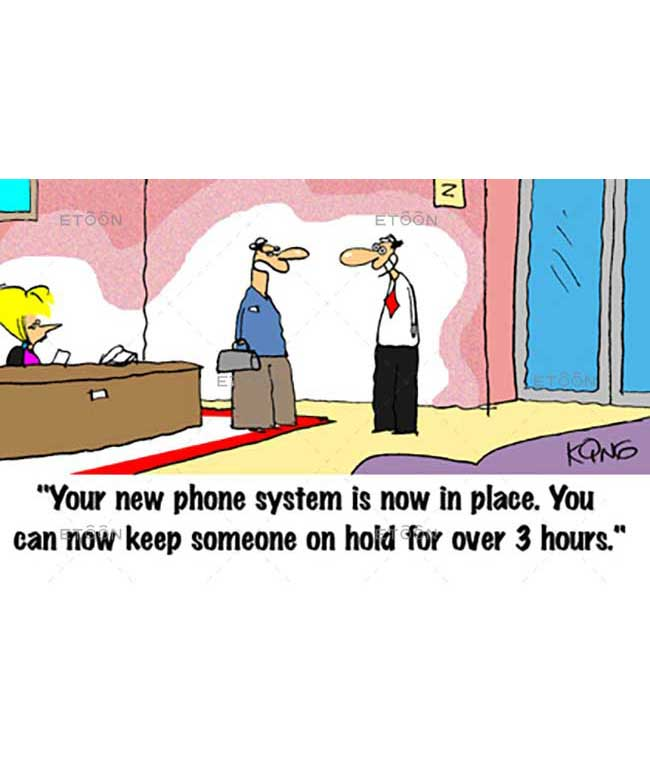 Your new phone system...: eToon cartoon for newsletters, presentations, websites, books and more