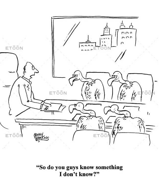 So, do you guys know something I dont know?: eToon cartoon for newsletters, presentations, websites, books and more