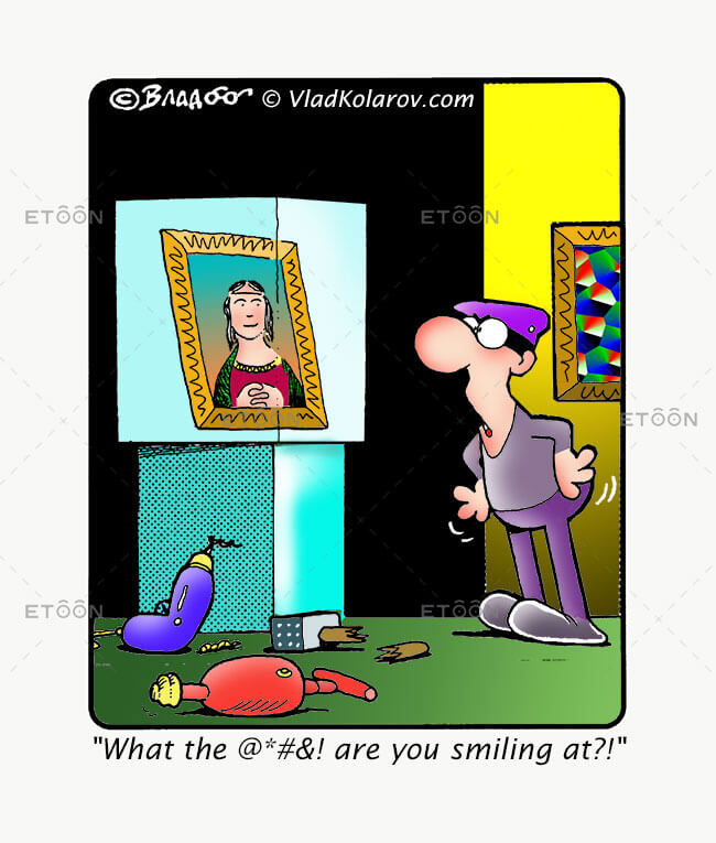 What the @*#&! are you smiling at?!: eToon cartoon for newsletters, presentations, websites, books and more