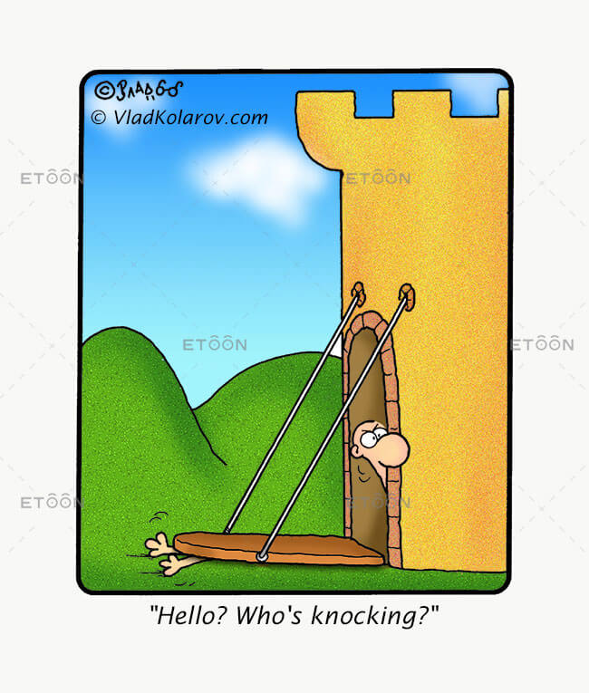 Hallo? Whos knocking?: eToon cartoon for newsletters, presentations, websites, books and more