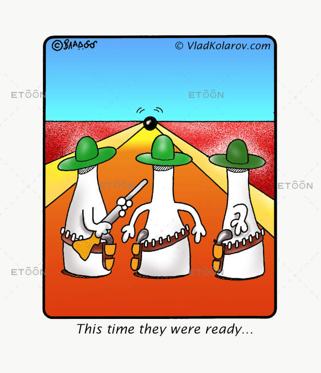 This time they were ready!: eToon cartoon for newsletters, presentations, websites, books and more