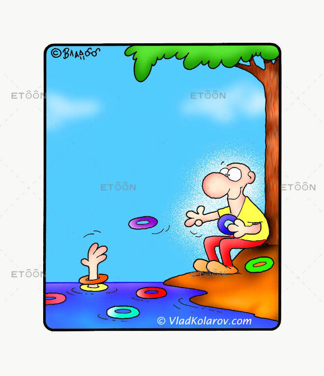 A friend in need...: eToon cartoon for newsletters, presentations, websites, books and more