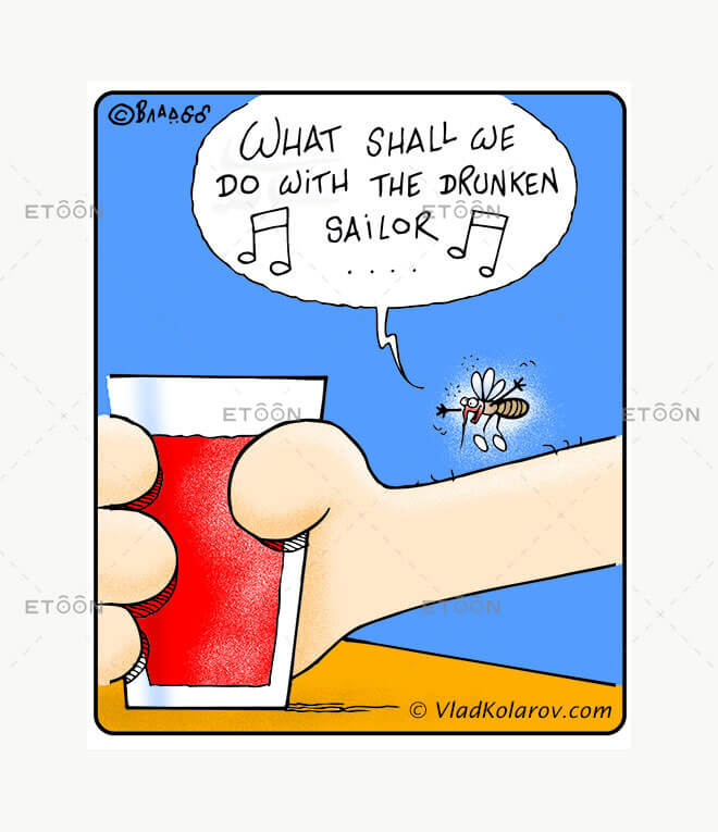 What shall we do with the drunken sailor?...: eToon cartoon for newsletters, presentations, websites, books and more