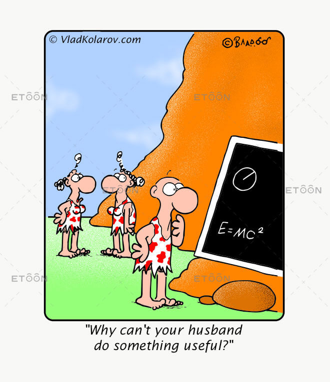 Why cant your husband do something useful?: eToon cartoon for newsletters, presentations, websites, books and more