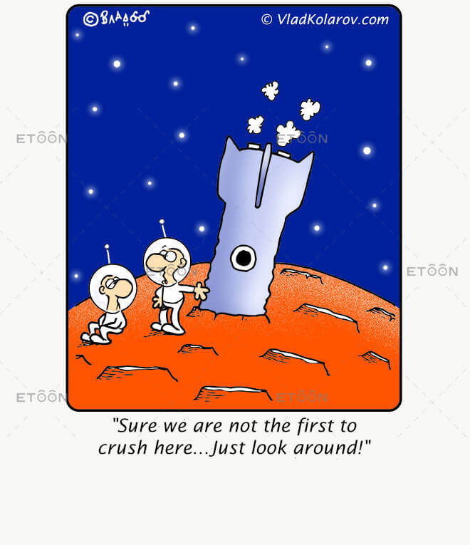 Sure we are not the first to crush here...: eToon cartoon for newsletters, presentations, websites, books and more