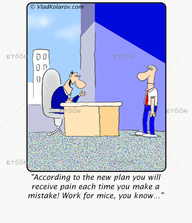 According to the new plan you will receive..: eToon cartoon for newsletters, presentations, websites, books and more
