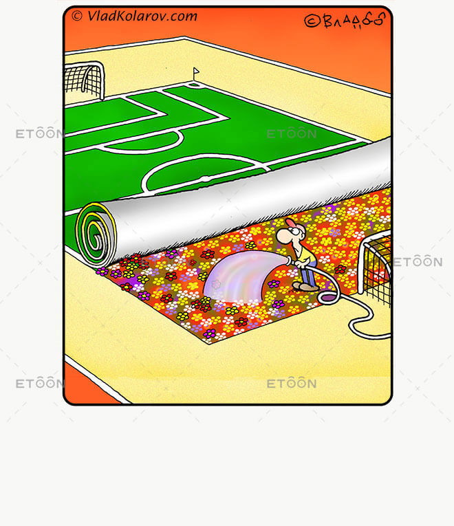 Soccer4: eToon cartoon for newsletters, presentations, websites, books and more