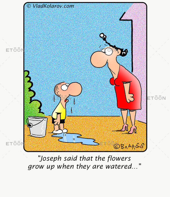 Joseph said that...: eToon cartoon for newsletters, presentations, websites, books and more