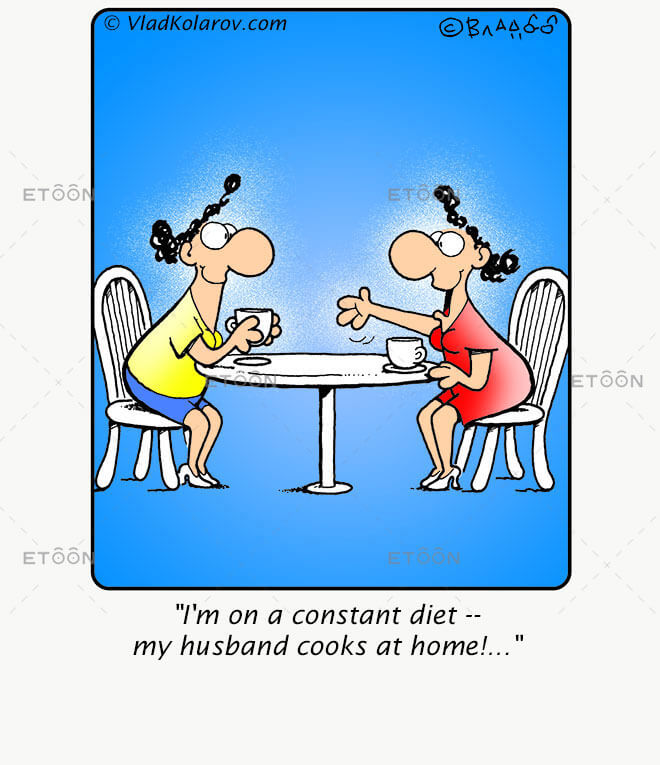 Im on a constant diet...: eToon cartoon for newsletters, presentations, websites, books and more