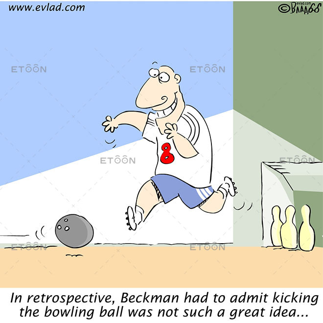 In retrospective, Beckman had to admit...: eToon cartoon for newsletters, presentations, websites, books and more