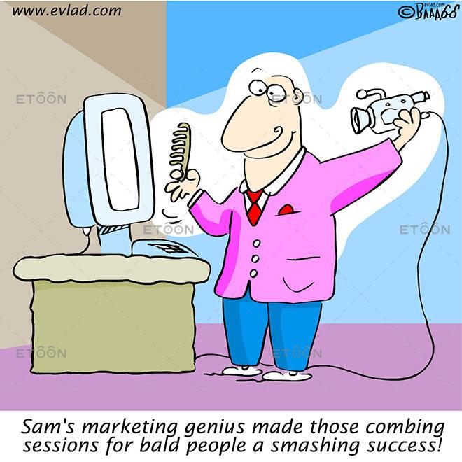 Sams marketing genius made those...: eToon cartoon for newsletters, presentations, websites, books and more