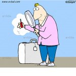Tight security: eToon cartoon for newsletters, presentations, websites, books and more