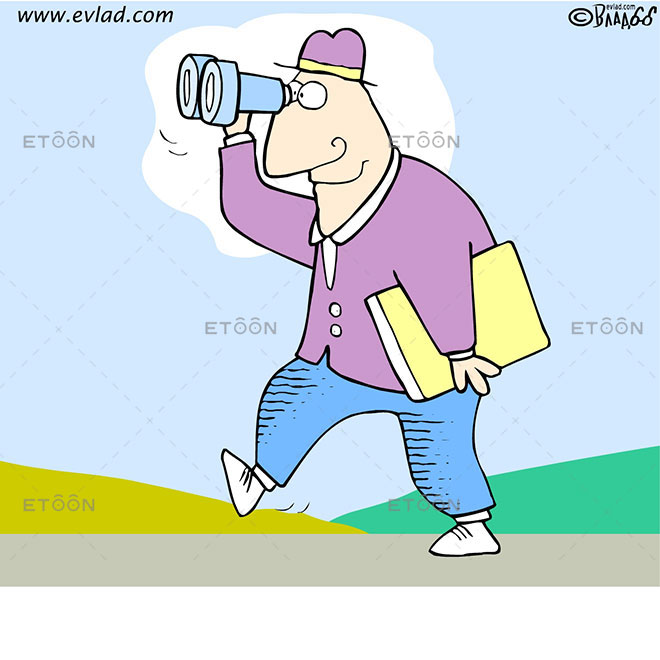 Im telling you, we ought to charge pay per view.: eToon cartoon for newsletters, presentations, websites, books and more