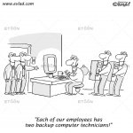 Unexpectedly it hit back.: eToon cartoon for newsletters, presentations, websites, books and more