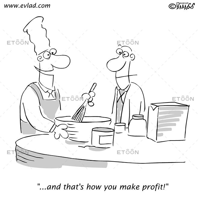 eToon: Cartoon about making profit