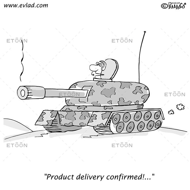Product delivery confirmed!...: eToon cartoon for newsletters, presentations, websites, books and more