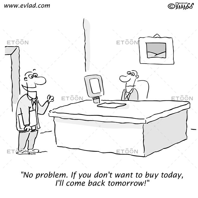 No problem. If you dont want to buy...: eToon cartoon for newsletters, presentations, websites, books and more