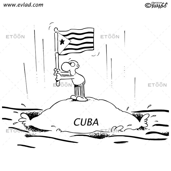 CUBA: eToon cartoon for newsletters, presentations, websites, books and more