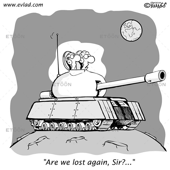 Are we lost again, Sir?...: eToon cartoon for newsletters, presentations, websites, books and more