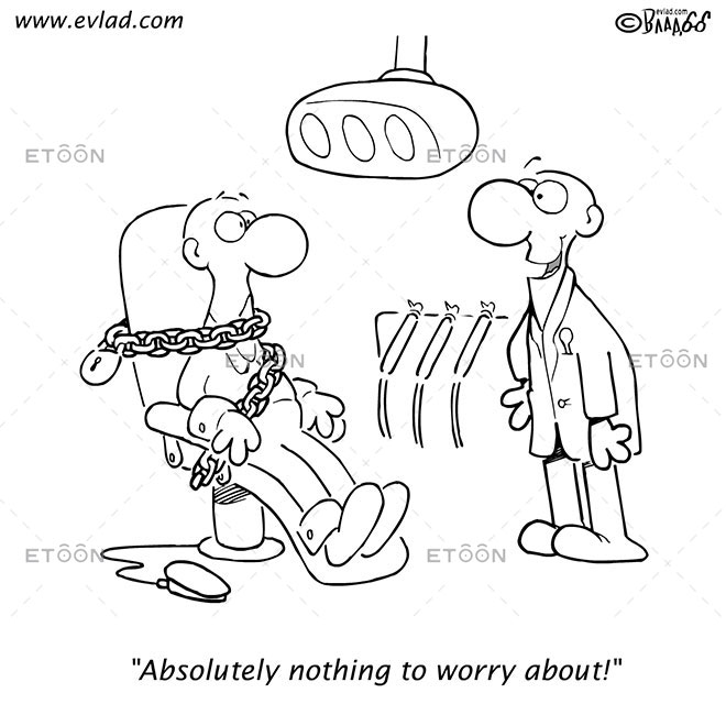 Absolutely nothing to worry about!: eToon cartoon for newsletters, presentations, websites, books and more