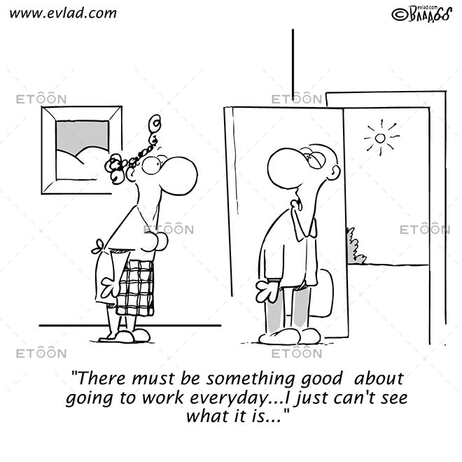 There must be something good...: eToon cartoon for newsletters, presentations, websites, books and more
