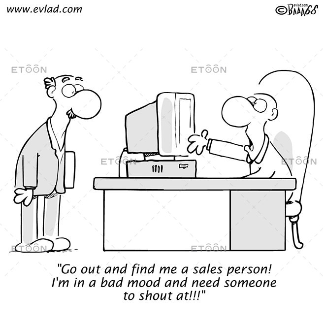 Go out and find me a sales person!...: eToon cartoon for newsletters, presentations, websites, books and more