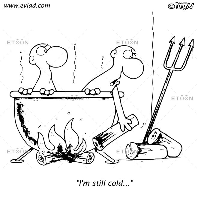 Im still cold...: eToon cartoon for newsletters, presentations, websites, books and more