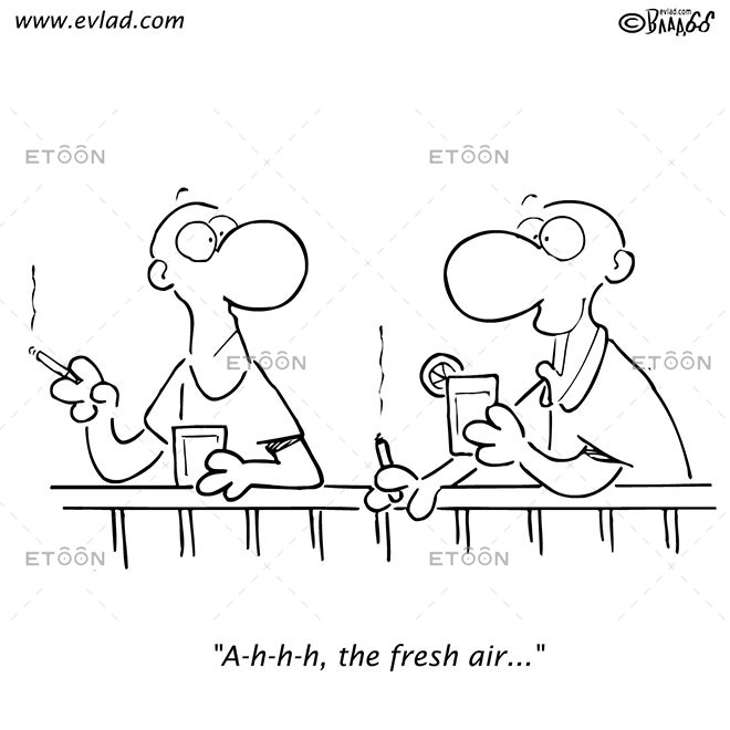 A h h h, the fresh air...: eToon cartoon for newsletters, presentations, websites, books and more