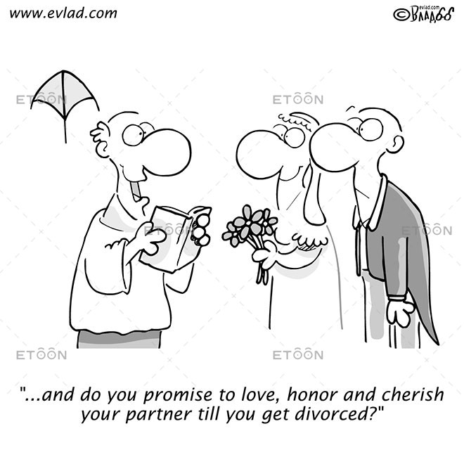...and do you promise to love...: eToon cartoon for newsletters, presentations, websites, books and more