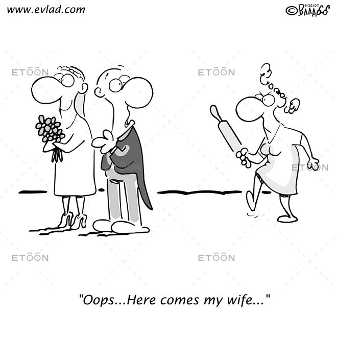 Oops...Here comes my wife...: eToon cartoon for newsletters, presentations, websites, books and more