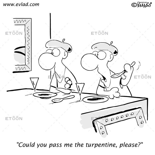 Could you pass me the turpentine, please?: eToon cartoon for newsletters, presentations, websites, books and more