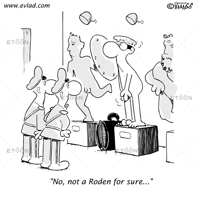 No, not a Roden for sure...: eToon cartoon for newsletters, presentations, websites, books and more