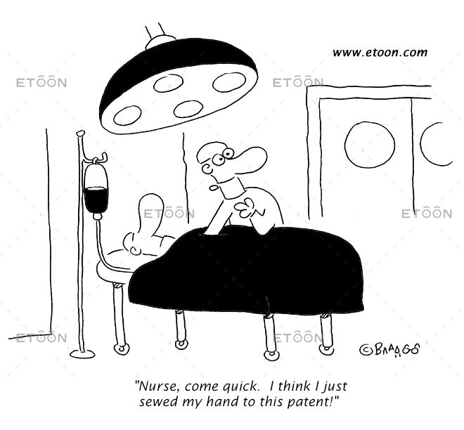 Nurse, come quick...: eToon cartoon for newsletters, presentations, websites, books and more