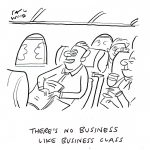 There's no business like business class